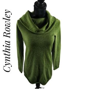 cowl neck sweater by Cynthia Rowley